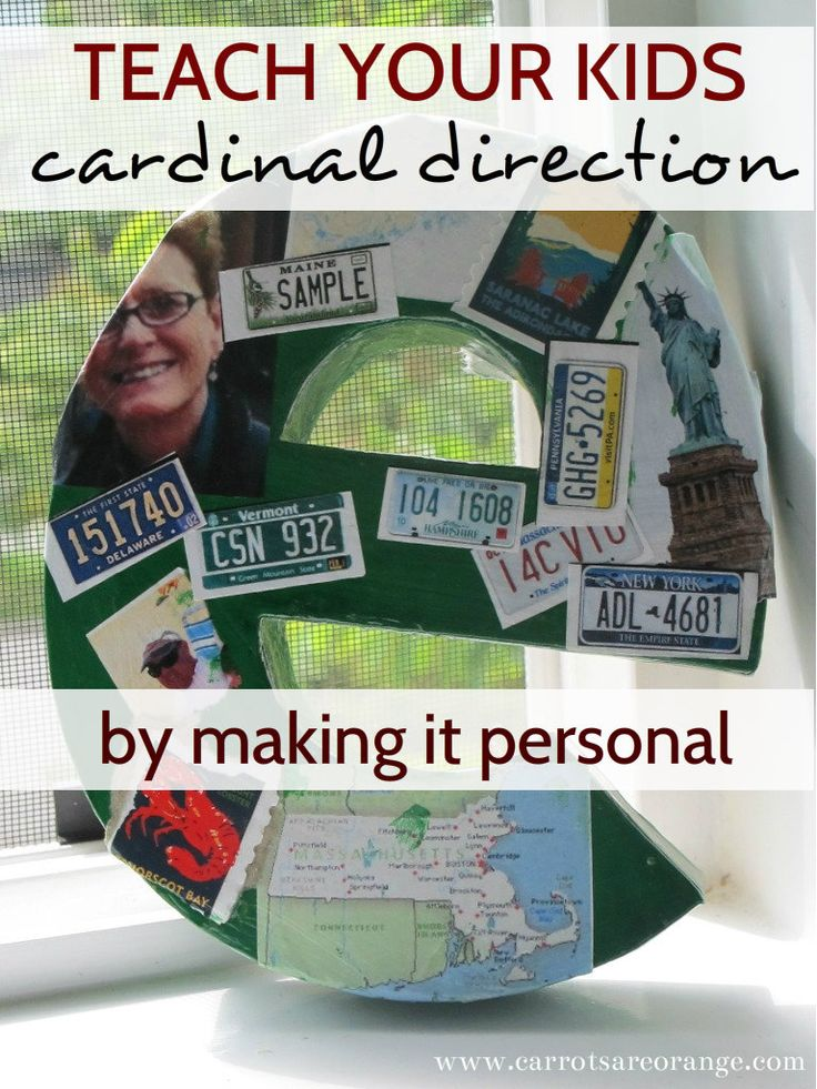 Teach Cardinal Direction Make It Personal 138