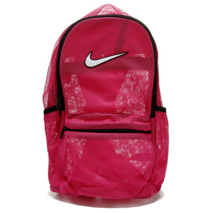 Nike Brasilia Mesh Backpack Accessories (Pink)
