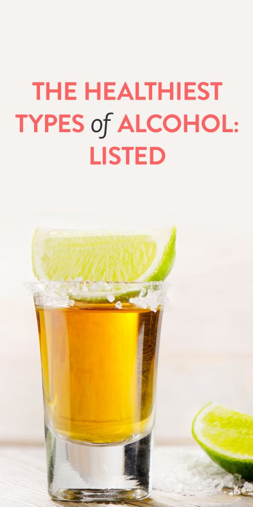the healthiest types of alcohol