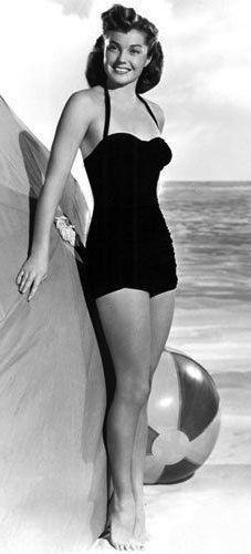 Esther Williams, 1950s. This is the picture I received with my Esther Williams Swimsuit.