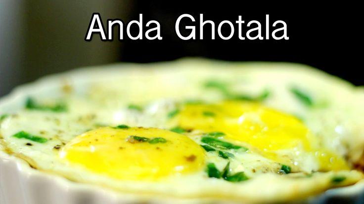 How to make Eggs Ghotala   Quick & Easy Recipes   Chef Saransh   Anda Ghotala
