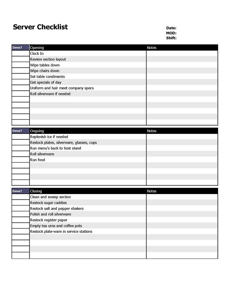 37 best Bare Bones Restaurant Forms images on Pinterest - rent roll form