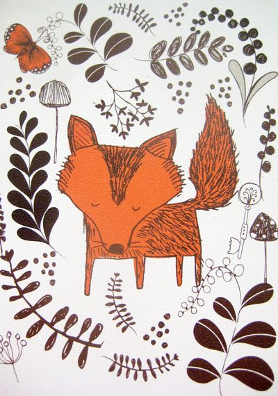 Woodland line by paper chase via print & pattern