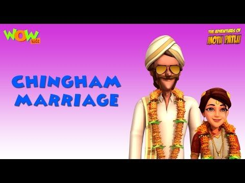 Motu Patlu Vacation Special - Chingam Marriage - As seen on Nickelodeon - Video Tubez