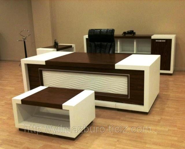 Dalgalı Makam Masa Takımı (ID#482346): satış, Ankaradaki fiyat. Yılmaz Büro Mobilyaları adlı şirketin sunduğu Makam Masaları