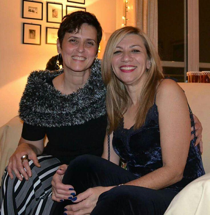 Η Κάκια και η Τζένη μια γιορτινή βραδιά που θα τη θυμόμαστε για πολύ καιρό.