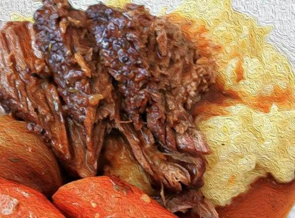 Melt-in-your-mouth Oven Baked Pot Roast Recipe