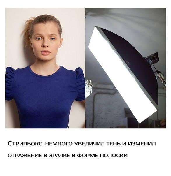 Студийный свет, примеры.  https://www.facebook.com/photogids/posts/461210770725024