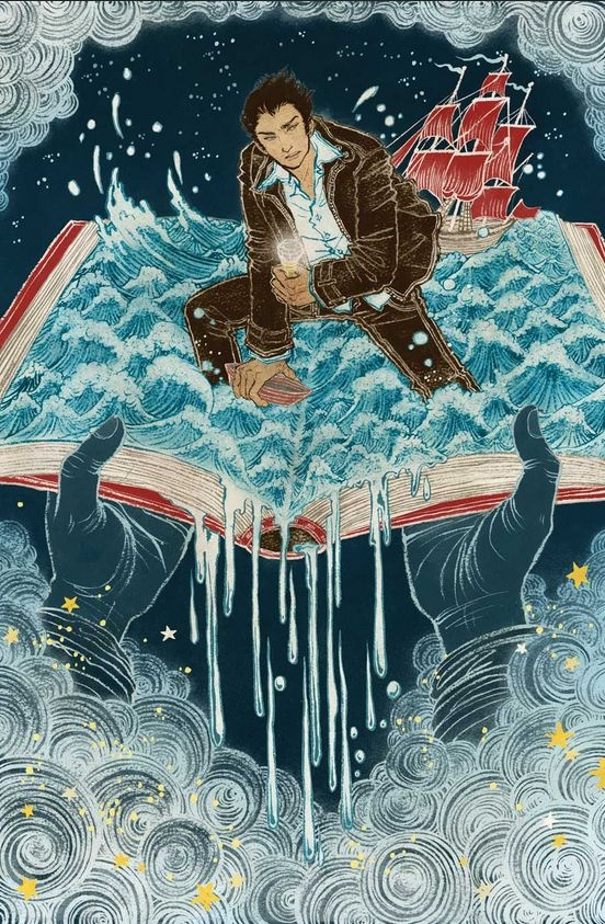( - p.mc.n.) Cover for the Unwritten Vol. 4: Leviathan by Yuko Shimizu