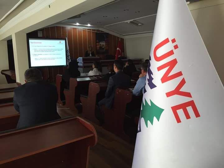 TÜRKKEP, Ünye Belediyesi'nde KEP ve E-Yazışma semineri düzenledi.  #KEP #EDönüşüm #Green