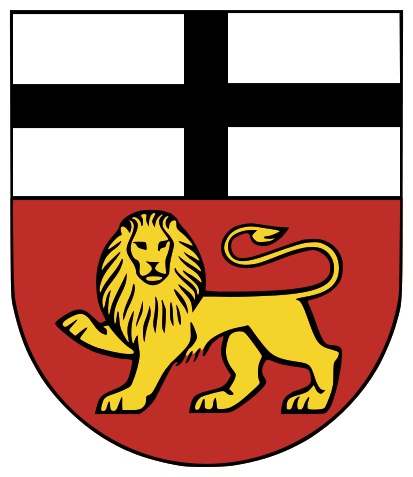 Coat of arms of Bonn, Germany.