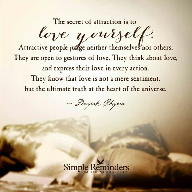 What is the secret attraction in your life? |