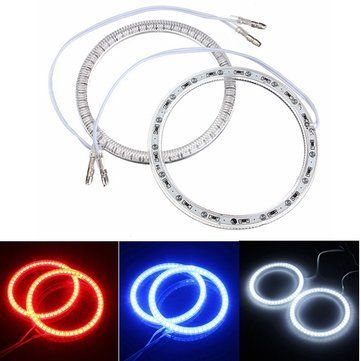 Only US$10.99, buy best 94mm Car 51 LED SMD Light Angel Eye Halo Ring Lamp Bulb For BMW sale online store at wholesale price.US/EU warehouse.