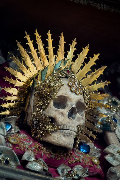 the Fantastically Bejeweled Skeletons of Catholicism's Forgotten Martyrs