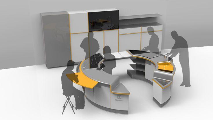 electrolux design lab 2013- cook around Pi - Stage3 - Visual Development http://electroluxdesignlab.com/en/submission/cook-around-pi/