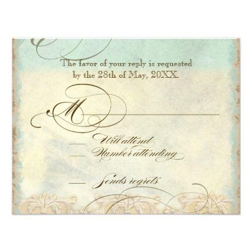 Great Egret Coastal Beach - Wedding Invitation