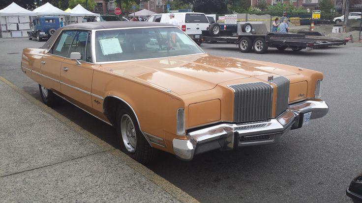 1976 Chrysler New Yorker Brougham Hardtop | Sign in window:  1976 Chrysler New Yorker, 4 Door Hard Top, Brougham. Original condition. The Flagship longest running American Car maker plate. Includes original Car Manuals.  Clear Title - licensed in Vancouver BC. until November 2016.  Running very well as is the Automatic Transmission, rear wheel drive.  V/8 440 cu in engine. Four Barrel Carburetor, High Performance, dual Exh.  Tires J/R78x15. Flat brushed Stainless centr