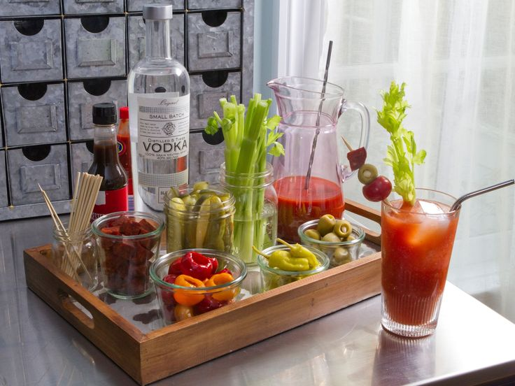 Bloody Mary recipe from Trisha Yearwood via Food Network