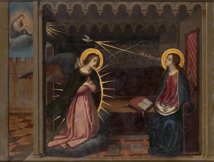 Благовещение (The Annunciation)_34.5 х 45.5_медь, масло_Санкт-Петербург, Эрмитаж