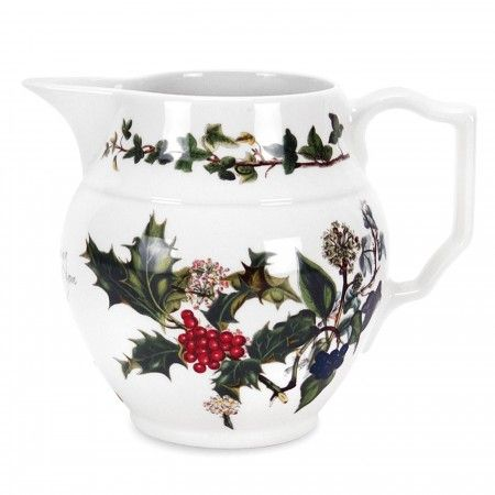 Portmeirion The Holly and The Ivy Staffordshire Jug 0.5pt - Portmeirion UK