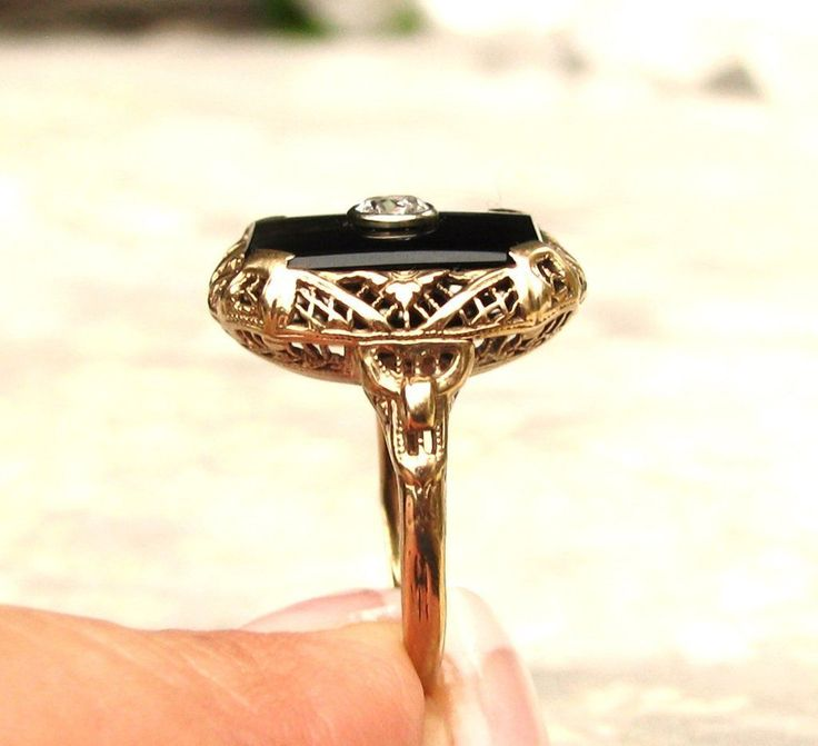 The 25 best 10k gold ring ideas on Pinterest