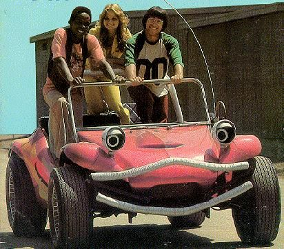 Wonderbug, Electra Woman and DynaGirl, Dr. Shrinker--the Krofft Supershow on Saturday mornings.
