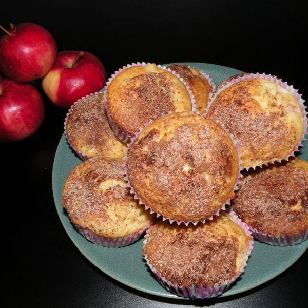 Engelska äppelmuffins