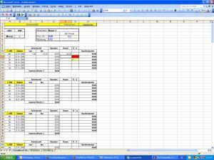 Excel Stundenzettel