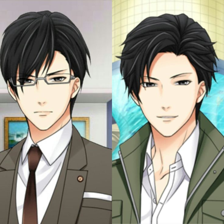 With and without glasses. I think he looks better without  I don't know, that suit and those glasses are also hot This picture makes me want to buy his route! I have never been interested until now! Why?!
