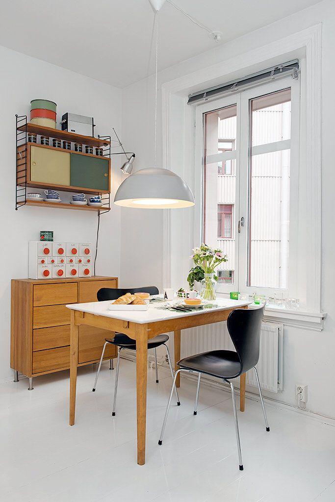 Изысканный клубничный интерьер в шведском стиле (4)