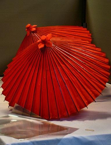 Japanese umbrellas, Wagasa 和傘... S)