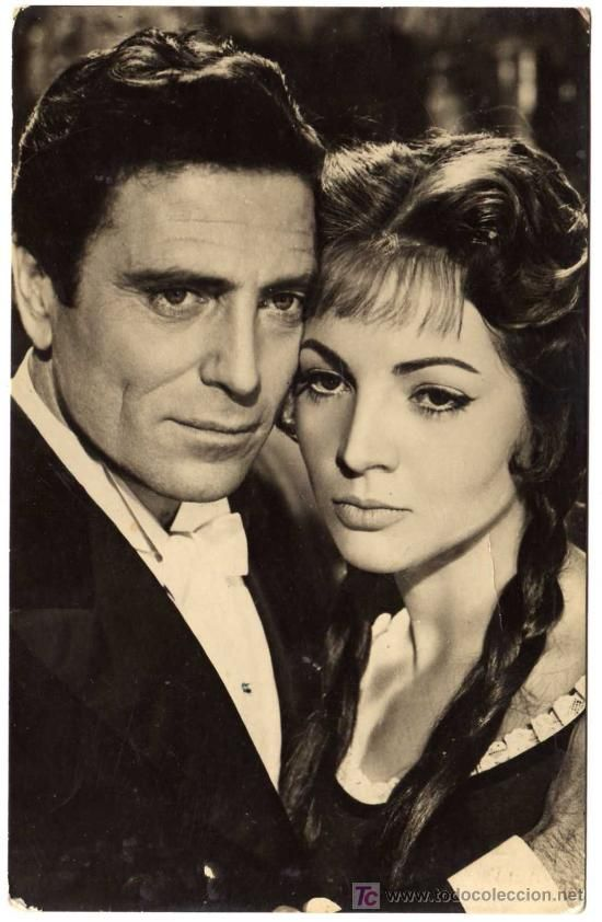 Sarita Montiel & Ralf Vallone in La Violetera 1958