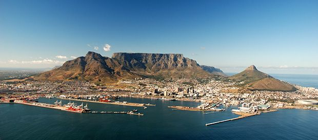 Natural Wonders in South Africa: Table Mountain, Cape Town