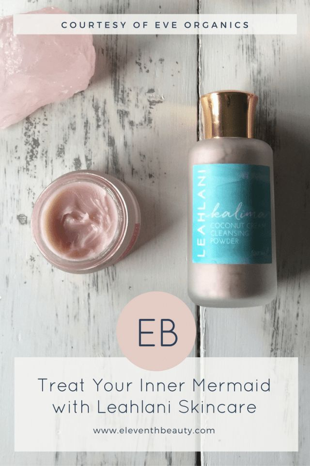Treat Your Inner Mermaid with Leahlani Skincare