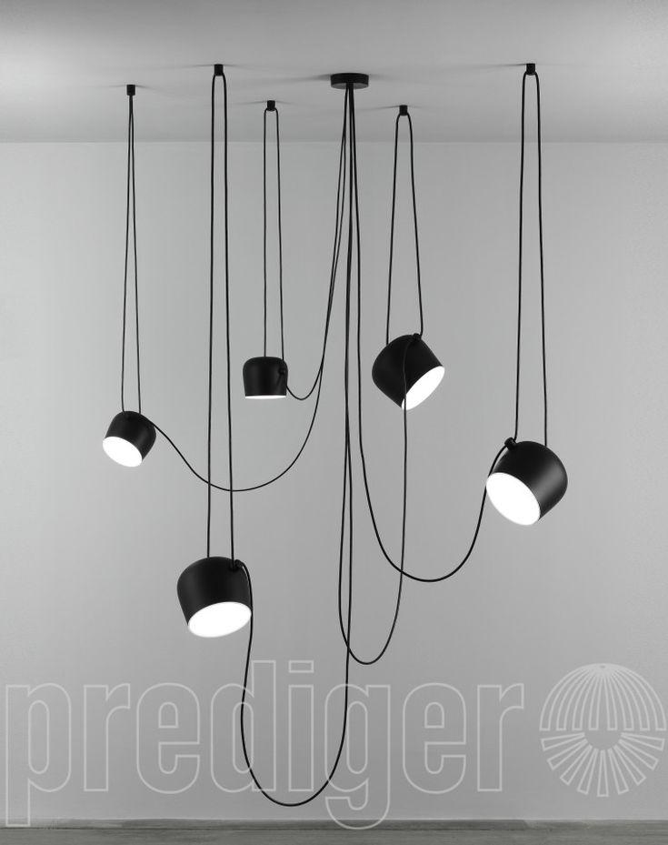 Flos Aim Small LED Sospensione 5 Pendel kaufen im Mehrfachpendelleuchten Online Shop | Hamburg | Berlin – Prediger Online Shop