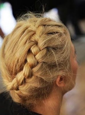 french braid around head - Yahoo Search Results