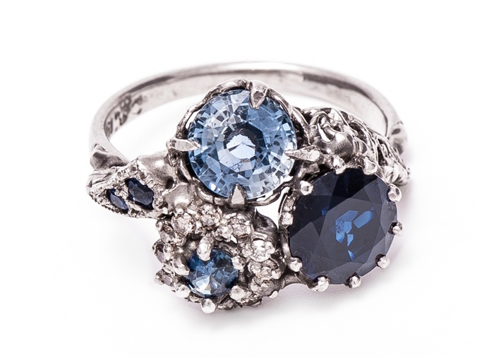 17 Best Images About Sapphires On Pinterest  Platinum. Funky Wedding Rings. White Gold Wedding Rings. Open Heart Wedding Rings. Teal Diamond Wedding Rings. Feminine Engagement Rings. Onion Wedding Rings. .9 Carat Engagement Rings. Country Wedding Engagement Rings