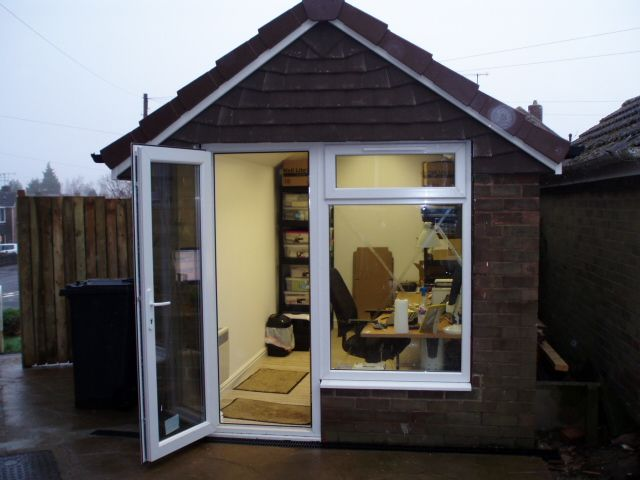 converting garage to office. ReStyle | Yorkshire Garage Conversion Sheffield Office Converting To