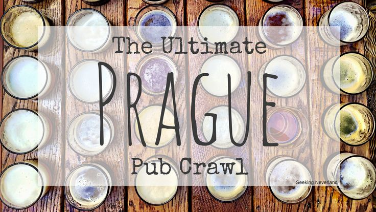 The Ultimate Prague Pub Crawl