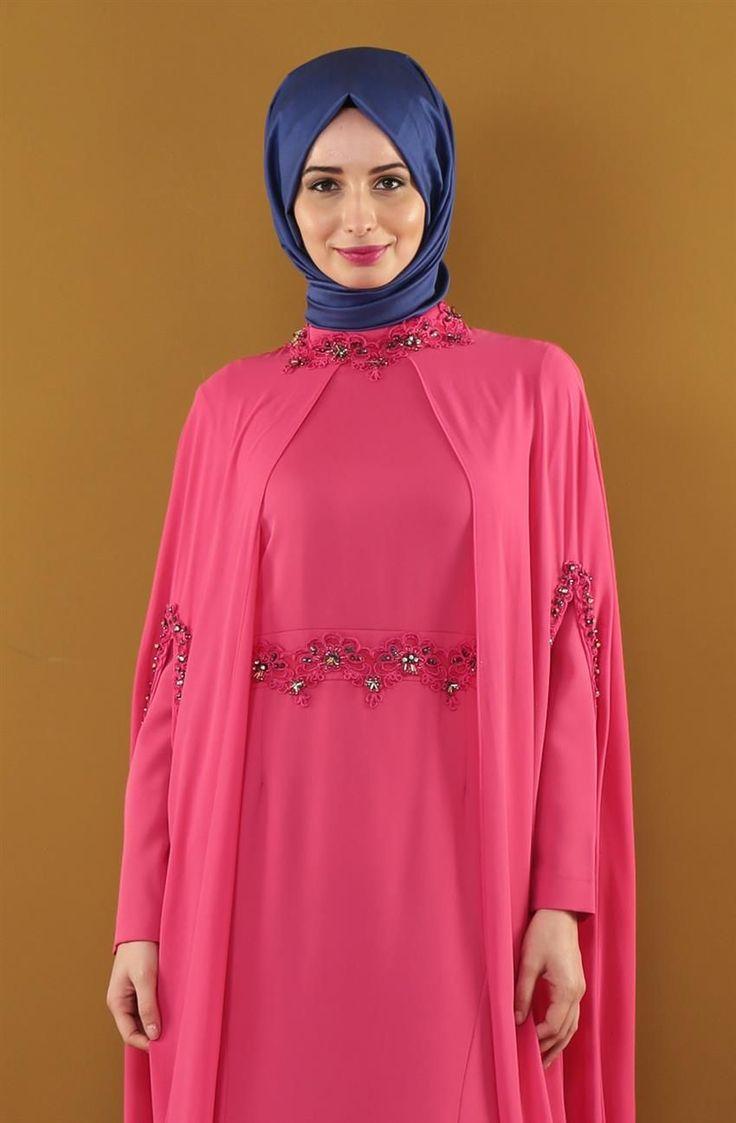 Kayra Abiye Elbise-Nar Çiçeği KA-B5-23006-107