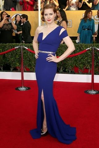 Amy Adams in Antonio Berardi  http://fashionallovertheplace.blogspot.it/2014/01/20th-sag-awards-best-dressed.html
