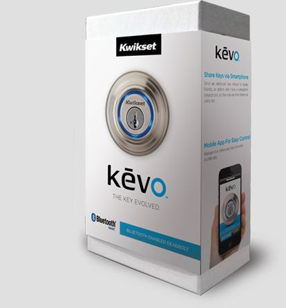 Kevo kwikset - lock/unlock your door with your cellphone or key fob in your pocket/purse...just open the door