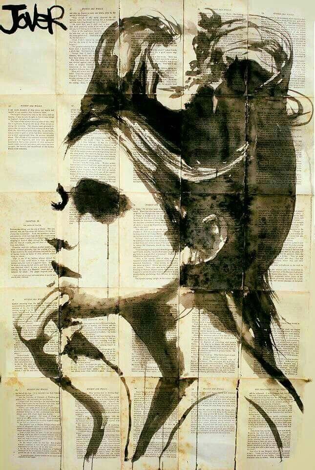 Obra de Loui Jouver. Pintor e ilustrador australiano