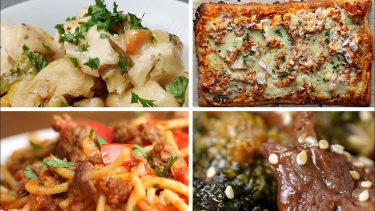 5 Easy Dinners For Busy Parents - YouTube