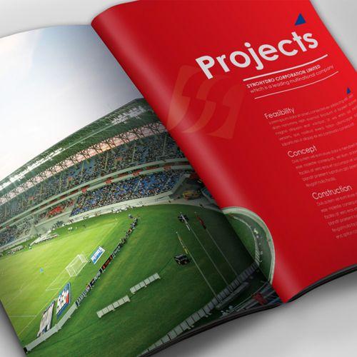 Contractor Developer Company Profile design by SIGNIFICAN significan-design.com