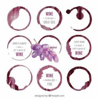 Las 25 mejores ideas sobre logo de vino en pinterest y m s - Manchas de vino ...