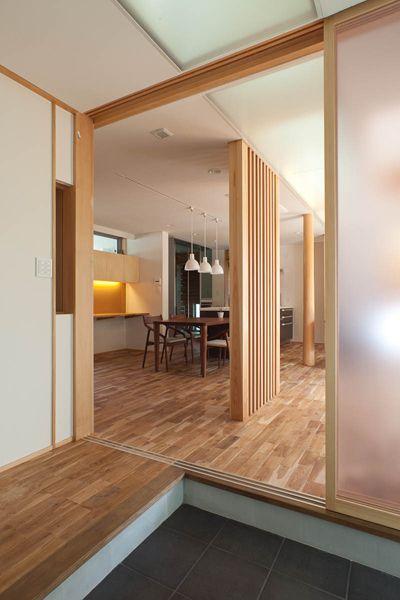 透間のある家【Slits house】  #igawa_arch #architecture #house