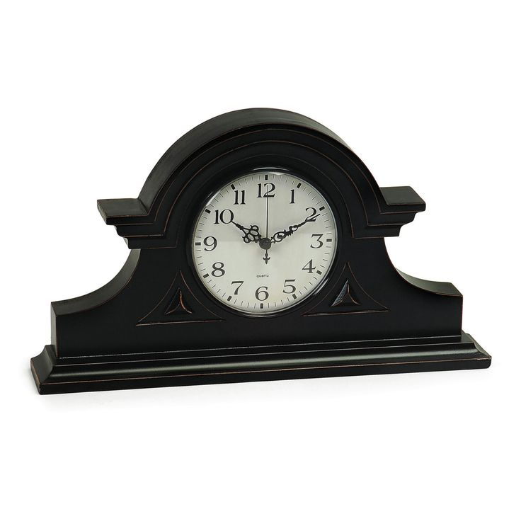 Black Mantel Clock - 2631