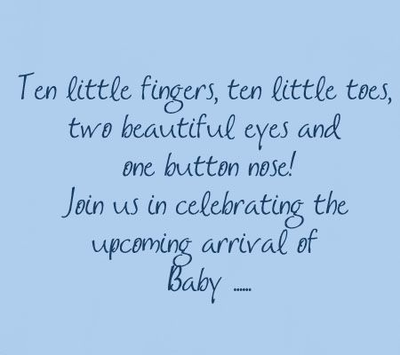 Quotes For Baby Shower Enchanting Best 25 Baby Shower Invitation Wording Ideas On Pinterest