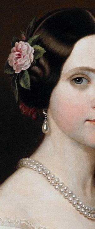 1849 (after) D. Maria Amélia de Bragança by ? after Friedrich Dürck